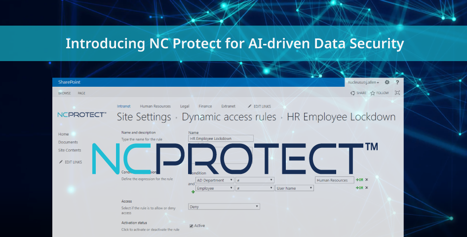 Nucleus Cyber Expands Microsoft Platform Support for NC Protect