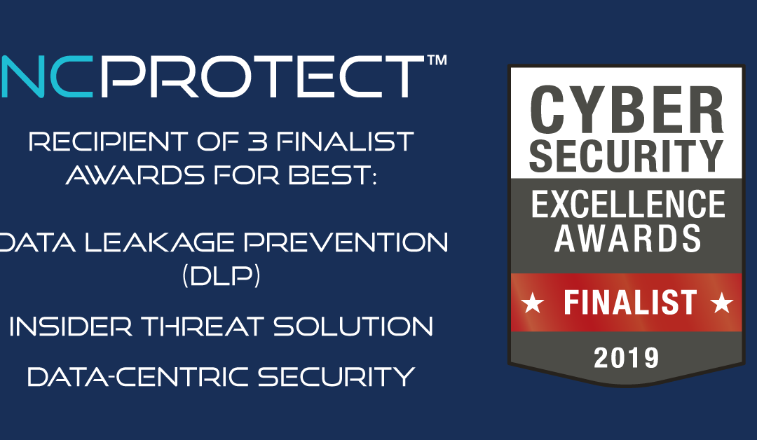 NC Protect Named a Finalist in Three Cybersecurity Excellence Award Categories