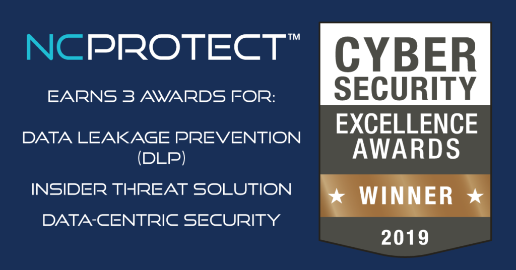 NC Protect is a Cybersecurity Excellence Awards Winner