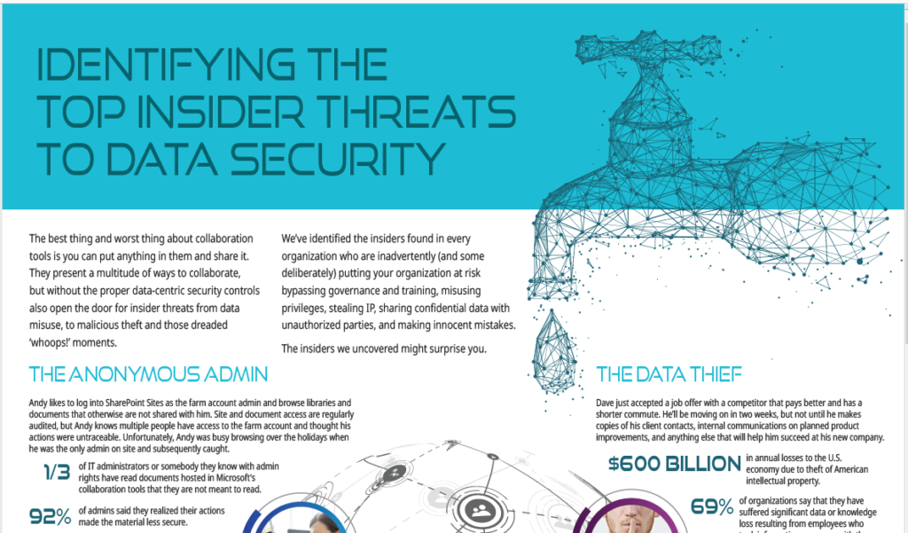 The Top Insider Threats to Data Security