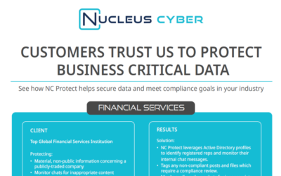 See How Your Peers Secure Business-critical Information with NC Protect